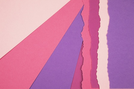 shredded paper: Colored torn paper strip borders.