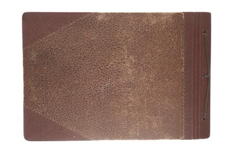 Old photo album isolated on white. Stock Photo - 9624791