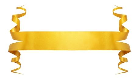 Elegance gold ribbon