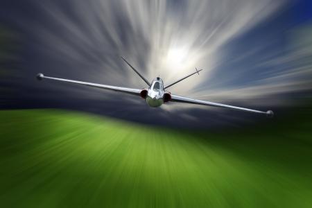 Combat aircraft  Reklamní fotografie