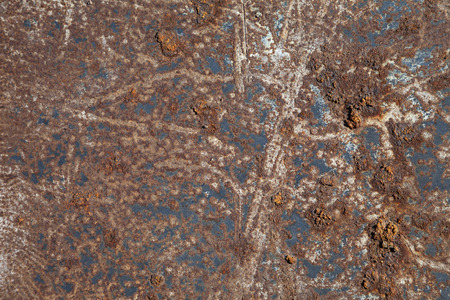 corroding: Rusted metal background Stock Photo