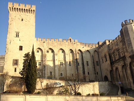 palace of the popes avignon vatican