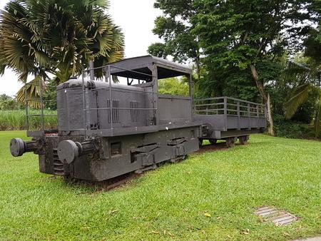 vieux train caraibes rhum canne à sucre Banque d'images