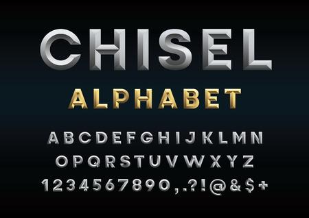 alfabeto fuente del alfabeto del vector