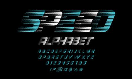 Speed style alphabet