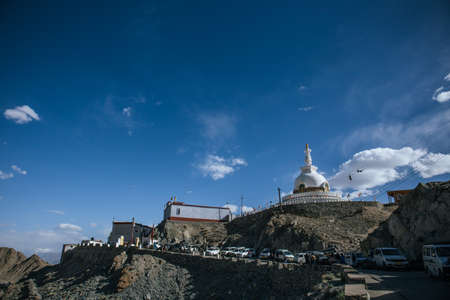 Shanti Stupa is a Buddhist white-domed stupa on a hilltop in Chanspa. It was built in 1991 by Japanese Buddhist Bhikshu, Gyomyo Nakamura.