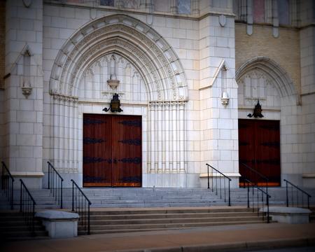 Doors to worship Stock fotó