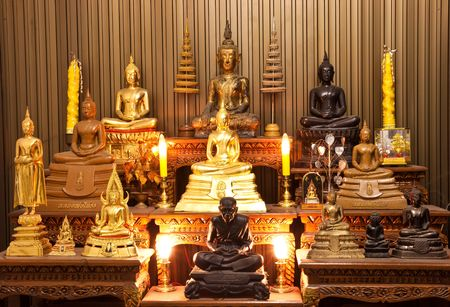 Beutiful Monk Statue Rack in Thailand