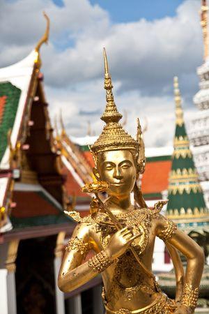 Golden Angel Wat Pra Kaeo, Bangkok Thailand