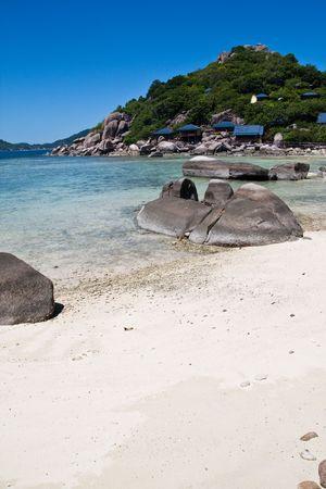 Sand Rock Nang-Yuan at the south of Thailand Stock Photo - 6790901