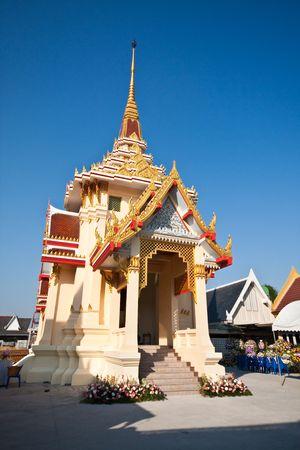 Wat Tad Thong Crematory 2, Thailand Stock Photo
