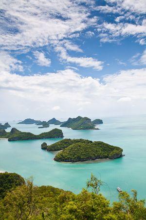 Vertical Ang-Thong Island, Thailand