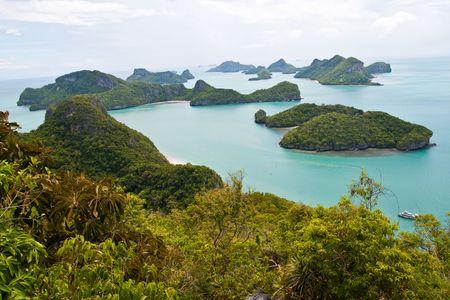 Ang-Thong Island, Thailand Stock Photo
