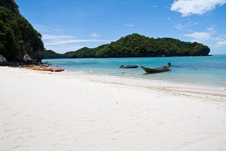 And-Thong Island Beach Boat, Thailand