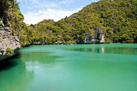 Emerald Pool Ang-Thong Island , Thailand