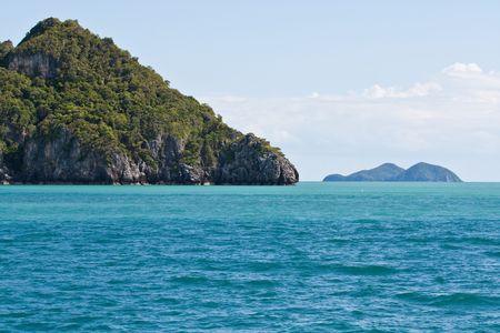Travel to Ang-Thong Island, Thailand Stock Photo