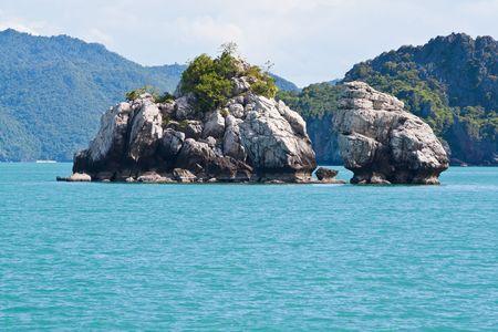 Ang-Thong Island Islet, Thailand