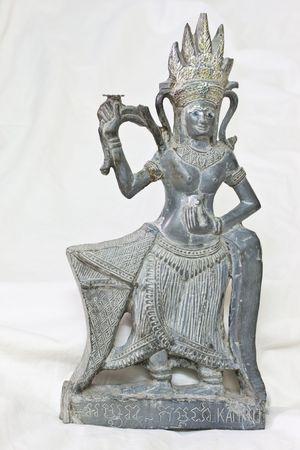 Isolated Thai Goddess in Thailand photo