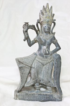 Isolated Thai Goddess in Thailand