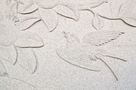 Beautiful Chinese Bird Carve Stock Photo - 6902688