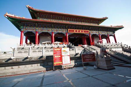 Wide Angle Baromraja Temple Left