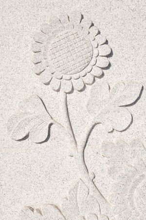 The Flower carve wall