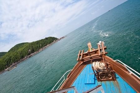 travel to koh lan, pattaya thailand Stock Photo