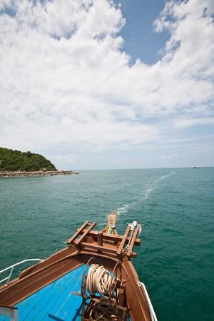 heading to koh lan, pattya thailand