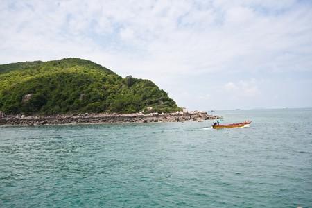 koh lan and the boat, pattaya thailand