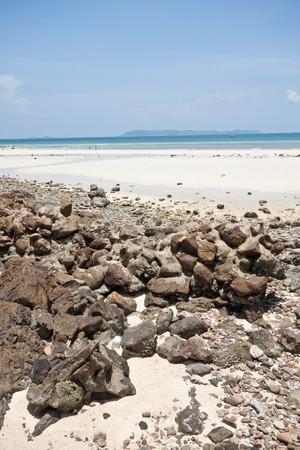 rock sand sea and sky, koh-lan pattaya