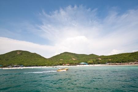 koh-lan paradise, pattaya thailand Stock Photo