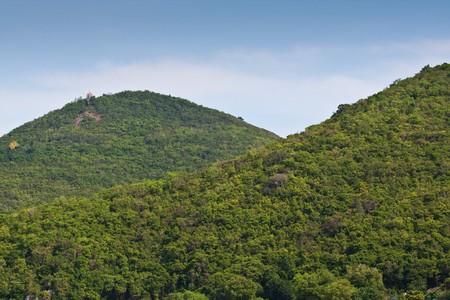mountain and sky koh-lan, pattaya thailand