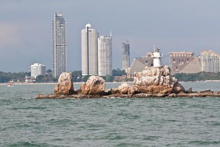 small lighthouse, pattaya thailand