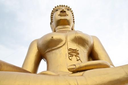 amazing buddha in thai temple