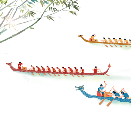 Dragon Boat Festival with Dragon Boat Race
