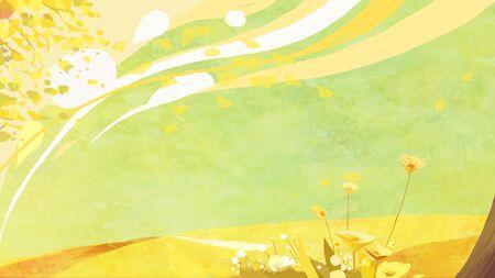 autumn concept illustration 版權商用圖片