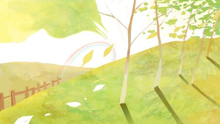 summer concept illustration Stock Photo