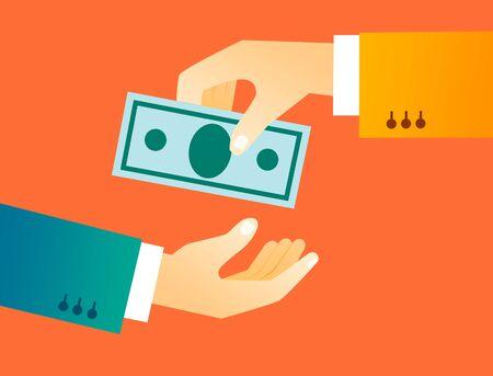 transaction concept illustration