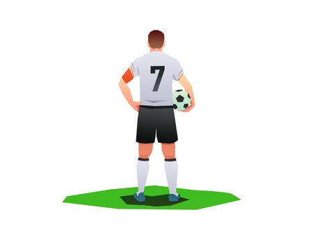 player holding the football