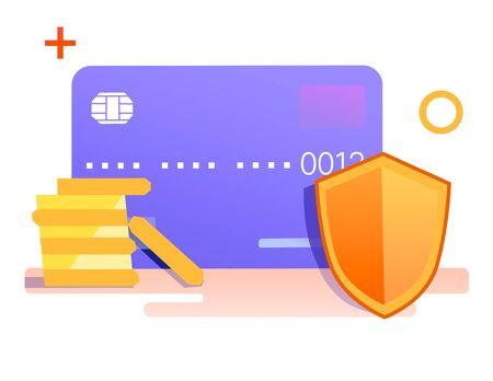 Protection of savings 版權商用圖片 - 128048568