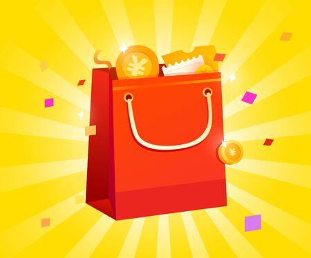 Shopping Bag Illustration