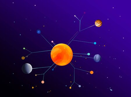 solar system at the galaxy
