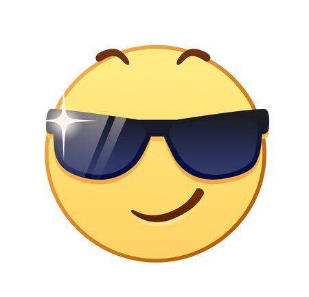 Emoji visage cool