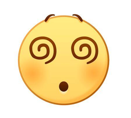 Dizzy emoji Çizim