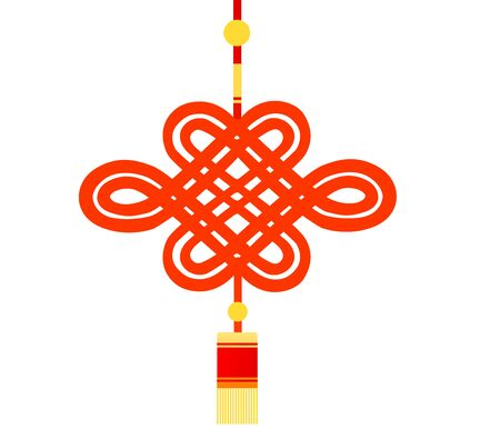 Chinese knot Banco de Imagens - 130479242