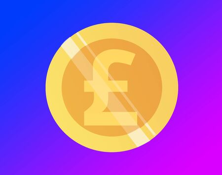 Currency of pound Banco de Imagens - 130642606