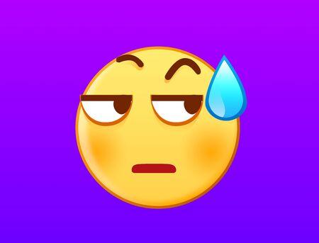 Silent emotion icon