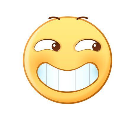 Smirk emotion icon