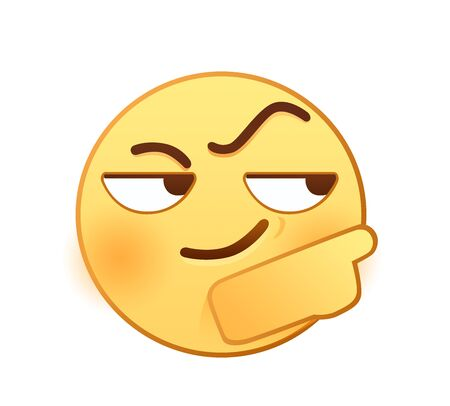 Wit emotion icon