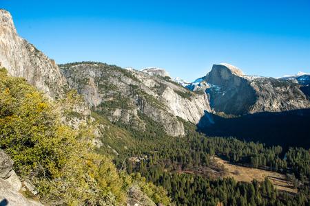 Half dome Yosemite National Park, California USA